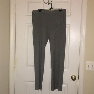 Calvin Klein light gray work slacks